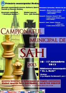 Campionatul Municipal de Sah Medias 2013